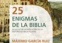 Máximo García 25 Enigmas de la Biblia