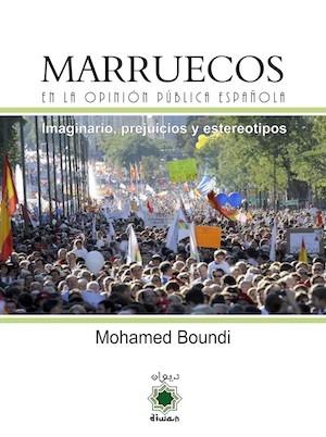 Portada de Marruecos en la opinión pública española, de Mohamed Boundi