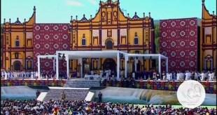 Misa del papa Francisco en San Cristóbal de las Casas, México