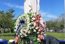Ofrenda floral a Rubén Dario en Miami