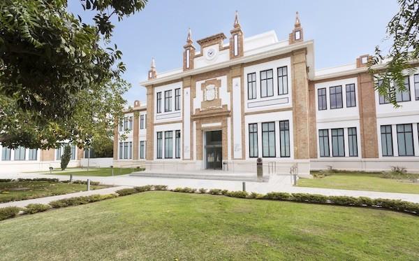 Museo Ruso de Málaga instalado en la Real Fábrica de Tabacos, 1929