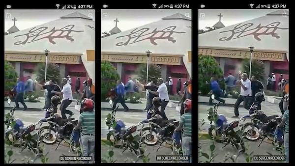 Nicaragua: civil armado en la represión ciudadana en Estelí
