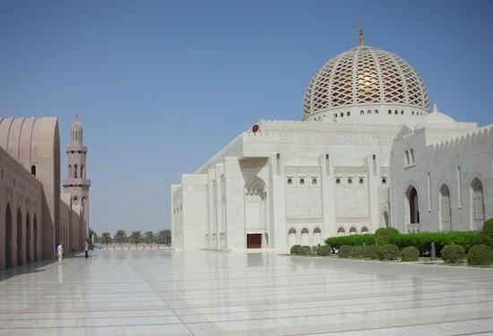 Oman: mezquita Sultán Qaboos