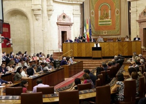 Parlamento Andalucía Susana Díaz
