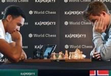 Partida entre Trent Alexander-Arnold y Magnus Carlsen