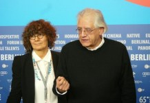 Patricio Guzmán y Renate Sachse en Berlinale