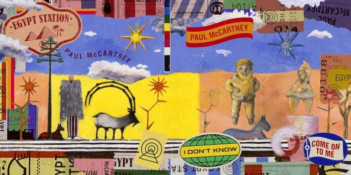 Paul MaCartney Egyp Station caratula