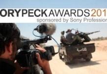 Banner de los Premios Rory Peck 2015