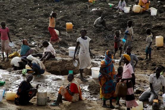 Campamento de refugiados de Jaman, en Sudán del Sur. Crédito: Jared Ferrie/IPS