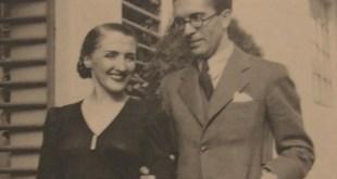 Rosa María Ascot y su marido, Jesús Bal y Gay