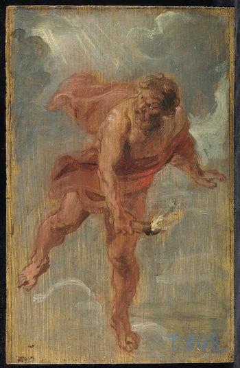 Rubens, boceto de Prometeo
