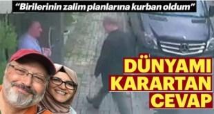 """Hatice Cengiz: """"cuando Jamal (Khashoggi) no salió del consulado entré en pánico"""""""