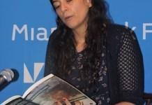 Samantha Schwebli presenta su libro en el Miami Dade College