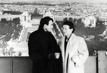 Simone de Beauvoir y Claude Lanzmann Paris 1952
