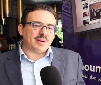 El director del diario Ajbar al Youm, Taoufik Bouachrine