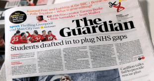Nuevo diseño del periódico The Guardian