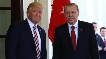 Trump con Erdogan en la Casa Blanca