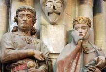 Ecardo II de Meissen y su mujer, Uta de Ballenstedt