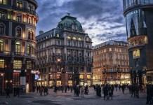 Viena calles noche