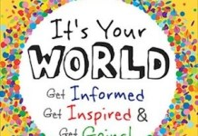 "Portada de ""It's your world"", de Chelsea Clinton"