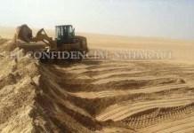 Marruecos construye un nuevo muro en El Aaiún