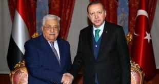 Abbas y Erdogan en un encuentro previo a la Cumbre Panislámica de Estambul