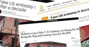 Falsa embajada americana entregaba visados en Ghana