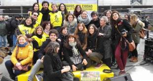 Amnistía Internacional el 4 de marzo de 2017, en solidaridad con las personas refugiadas