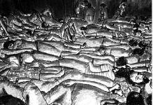 Dibujo de Amnistía Internacional sobre encarcelamientos y torturas en Siria