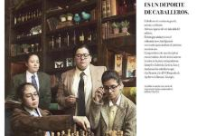 ajedrez deporte caballeros