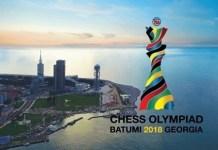 ajedrez olimpiada Batumi 2018 cartel