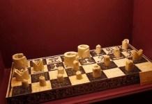 El ajedrez más antiguo de Italia expuesto en el Museo Arqueológico de Venafro.