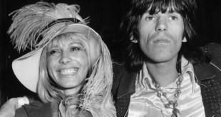 Anita Pallenberg y Keith Richards en 1968.