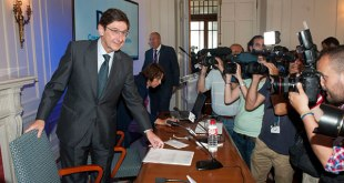 Goirigolzarri alerta del riesgo de oligopolio bancario