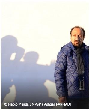 Asghar Farhani en 2016 en Cannes
