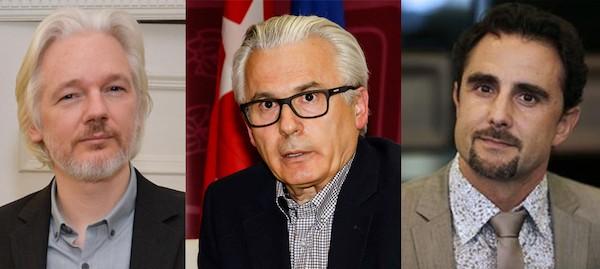 Assange, Garzón y Falciani