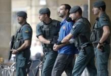 La Guardia Civil detiene a Javier Atristain en 2010