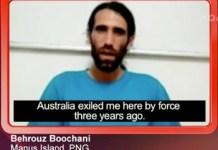 Behrouz Boochani se mantiene activo desde su encierro en Australia