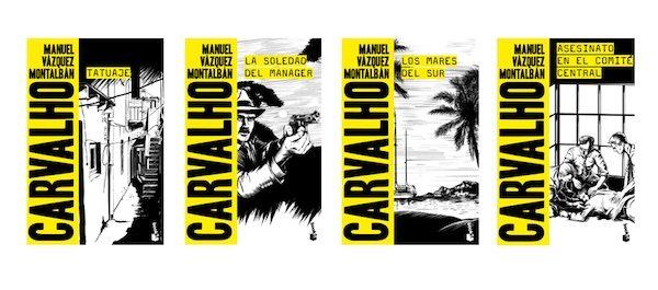 Booket inaugura con cuatro títulos la Biblioteca Manuel Vázquez Montalbán
