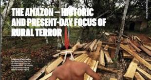 Brasil exporta madera manchada de sangre