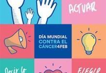 Cartel 2017 del Día Mundial contra el Cáncer