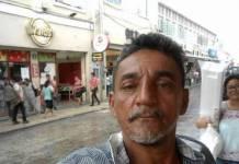Cándido Ríos Vázquez, autofoto en su página de Facebook
