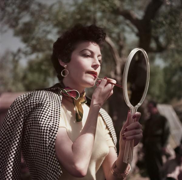 Capa: Ava Gardner en el rodaje de Barefoot