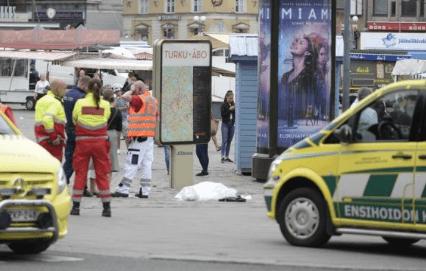 Apuñalamiento en Turku (Finlandia)