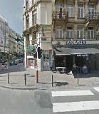 Bar Kafka, rue des Poissonniers, Bruselas.