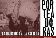 Campaña de apoyo de APDHA a las mujeres porteadora de Ceuta