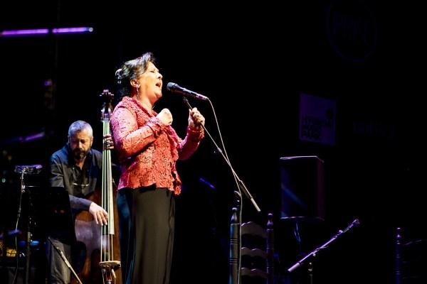 Carmen Linares en Verso a verso.Foto Sergio García