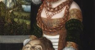 Foto: Lucas Cranach el Viejo. Salomé con la cabeza de S. Juan Bautista