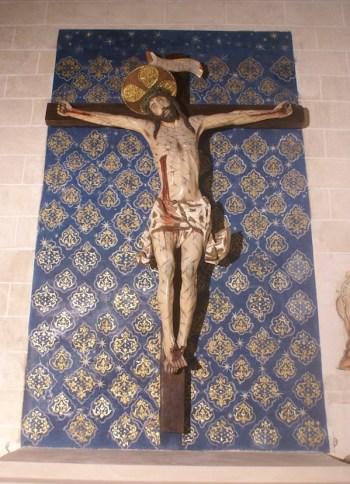 Cristo de las Angustias del Real Monasterio de Santo Tomás en Ávila