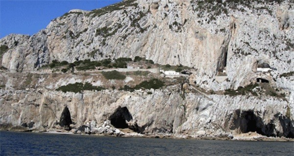 Cuevas de Gotham en Gibraltar.